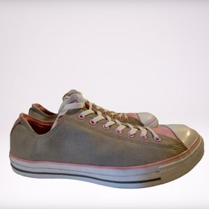 Converse All Star Taupe Pink Sneakers